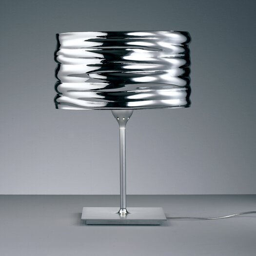 "Artemide Aqua Cil 14.56"" H Table Lamp with Drum Shade"