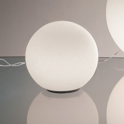 Artemide Dioscuri Table Lamp with Sphere Shade