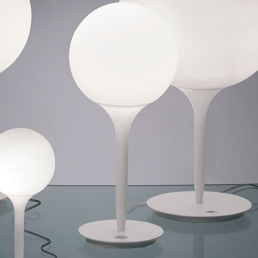 Artemide Castore Table Lamp with Sphere Shade