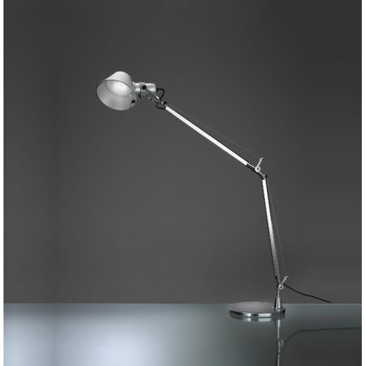"Artemide Tolomeo Classic LED 25.39"" H Table Lamp with Bowl Shade"