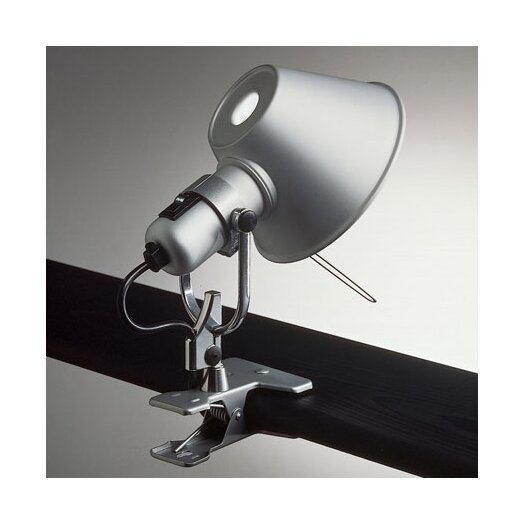 "Artemide Tolomeo Clip Spot 9"" H Table Lamp with Empire Shade"