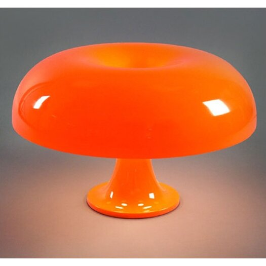 "Artemide Nesso 13"" H Table Lamp with Bowl Shade"
