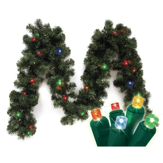 Brite Star Micro Mini Canadian Pine Branch Garland