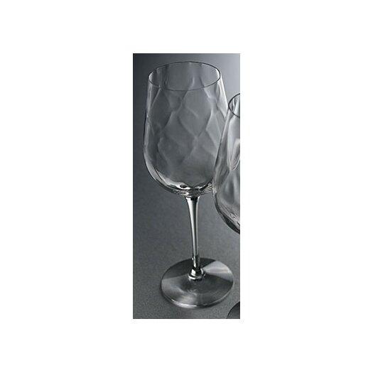 Orrefors Dizzy Diamond White Wine Glass