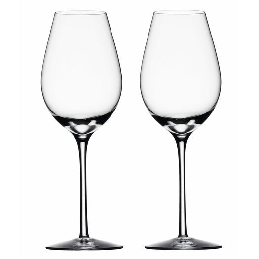 Orrefors Difference Fruit White Wine Glass