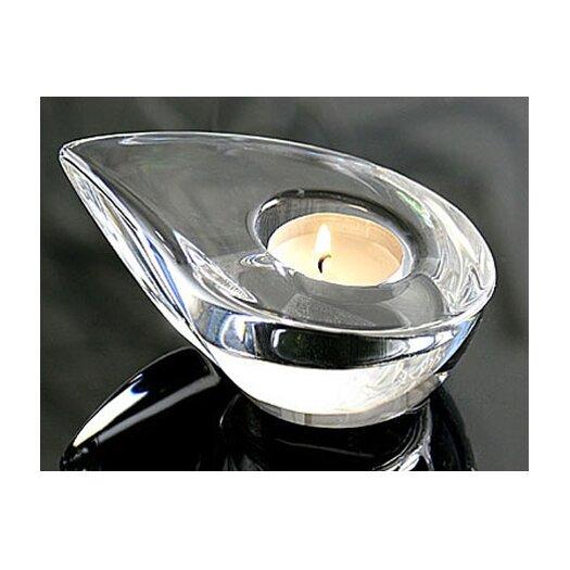 Orrefors Drop Crystal Tealight Holder