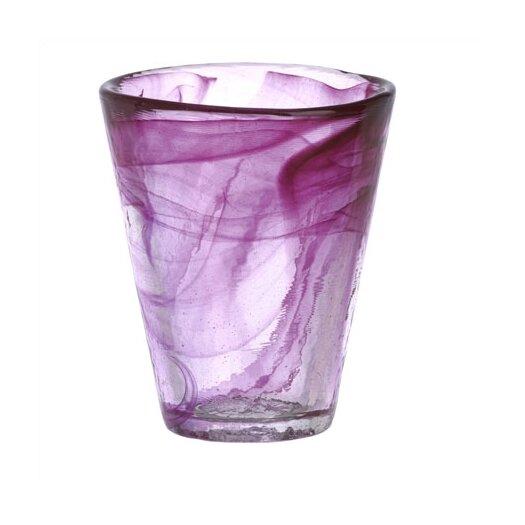 Kosta Boda Mine Pink Tumbler Glass