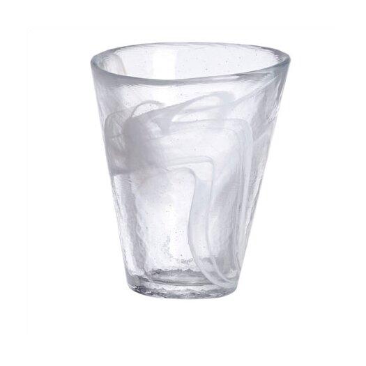 Kosta Boda Mine White Tumbler Glass