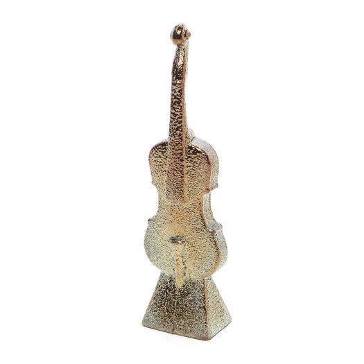 Kosta Boda Band Violin Sculpture