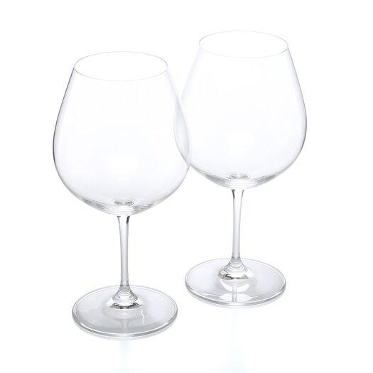 Riedel Vinum Pinor Noir (Burgundy Red) Red Wine Glass
