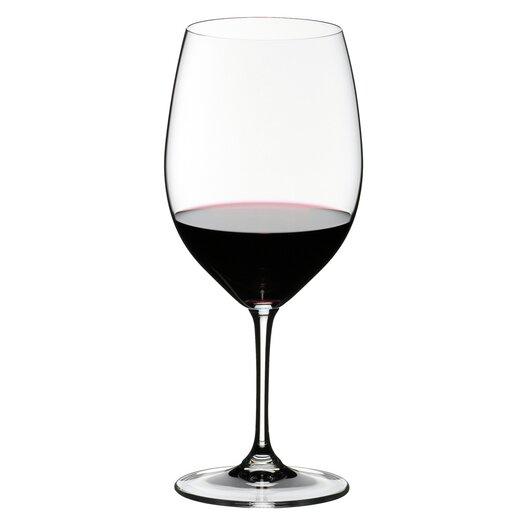 Riedel Vinum Cabernet Sauvignon/Merlot (Bordeaux) Red Wine Glass