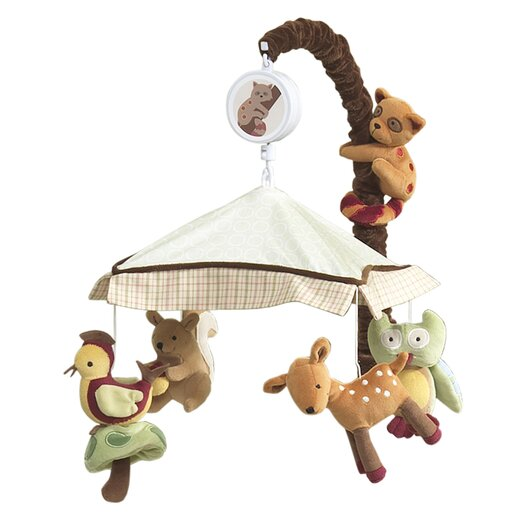 Lambs & Ivy Enchanted Forest Musical Mobile