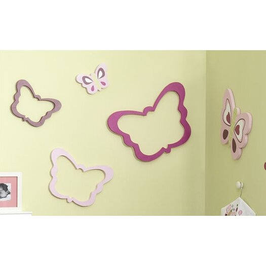 Lambs & Ivy Raspberry Swirl Wall Décor