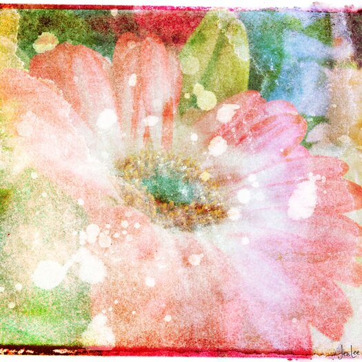 Marmont Hill Flower Fairytale by Art Collective Painting Print on Wrapped Canvas