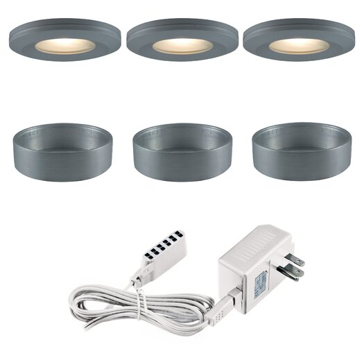 Jesco Lighting Slim Disk Xenon Beveled Edged Kit