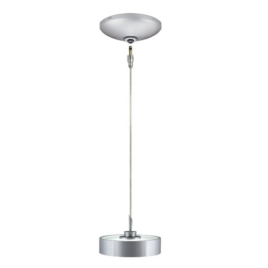 Jesco Lighting Tate 1 Light Pendant and Canopy Kit