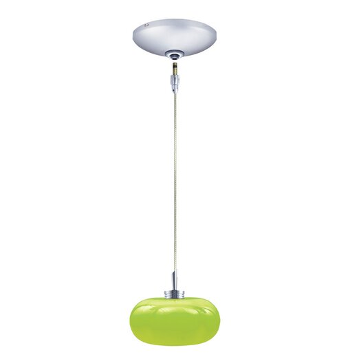 Jesco Lighting Jolly 1 Light Pendant and Canopy Kit