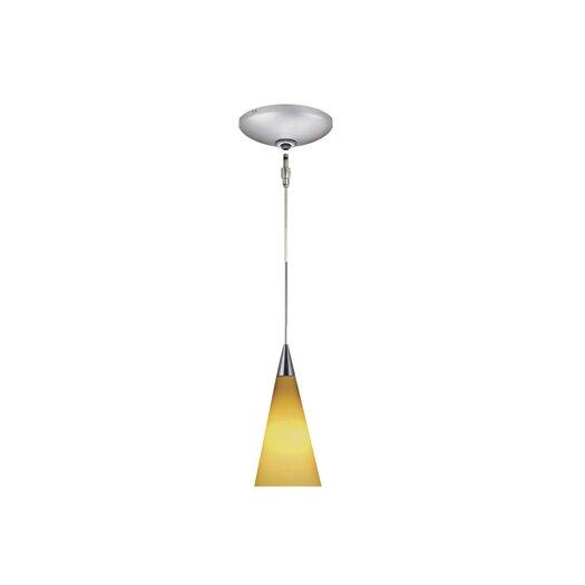 Jesco Lighting Vern 1 Light Pendant and Canopy Kit