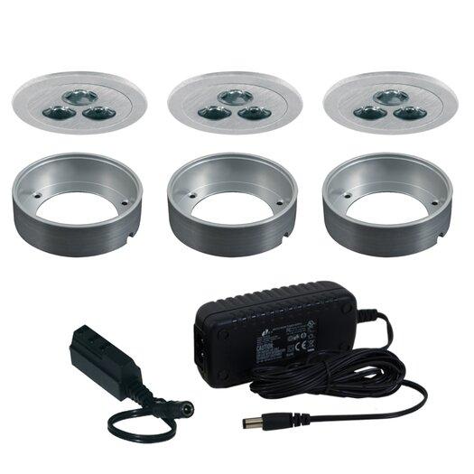 Jesco Lighting Silm Disk LED Fixed Round Kit