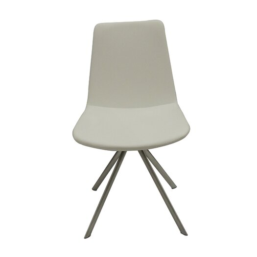 Pera Elips Eco Leather Side Chair