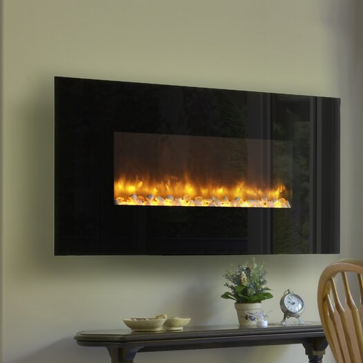 Dynasty Fireplaces LED Wall Mount Electric Fireplace