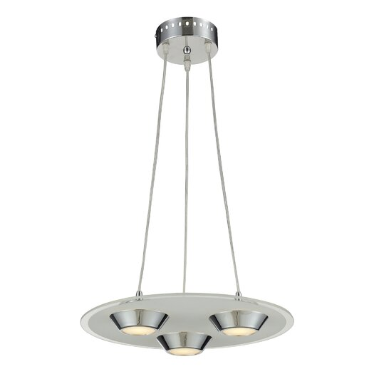 Nulco Lighting Brentford 3 Light Pendant