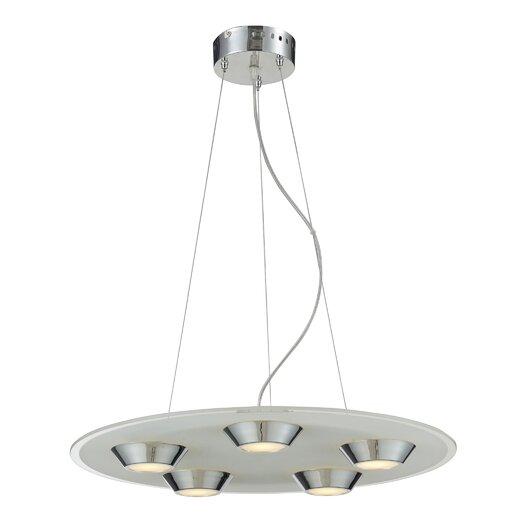 Nulco Lighting Brentford 5 Light Pendant