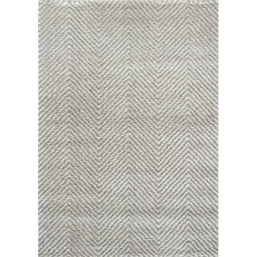 Kalora Boulevard Light Grey Chevron Area Rug Allmodern