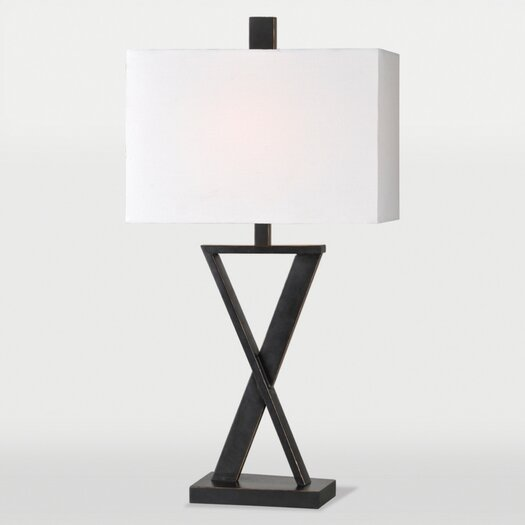 "Ren-Wil Chi 29"" H Table Lamp with Rectangular Shade"