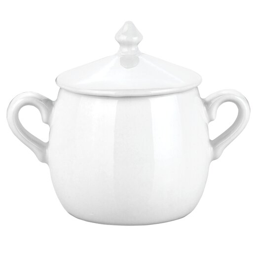 Pillivuyt 12 oz. Sugar Bowl with Lid