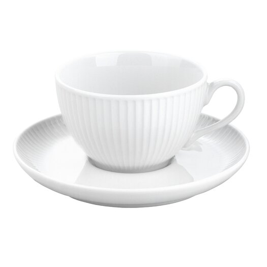 Pillivuyt Plisse Tea Saucer