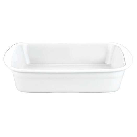 Pillivuyt Rectangular Deep Baker, 4 qt