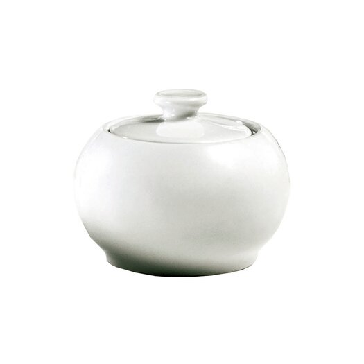 Pillivuyt Sancerre 6 oz. Sugar Bowl with Lid
