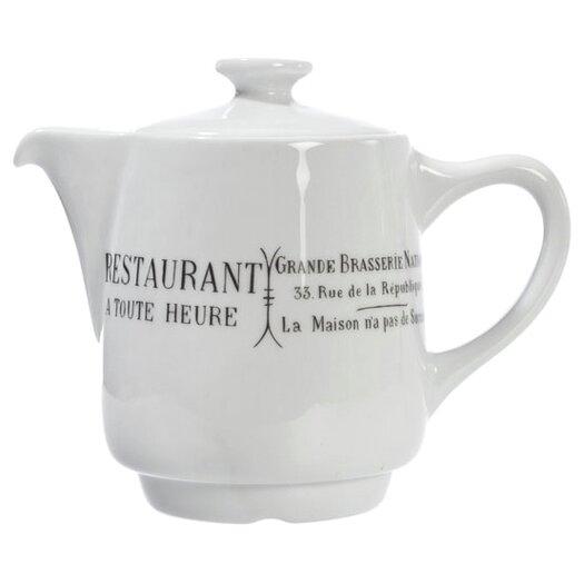 Pillivuyt Brasserie 0.56-qt. Teapot