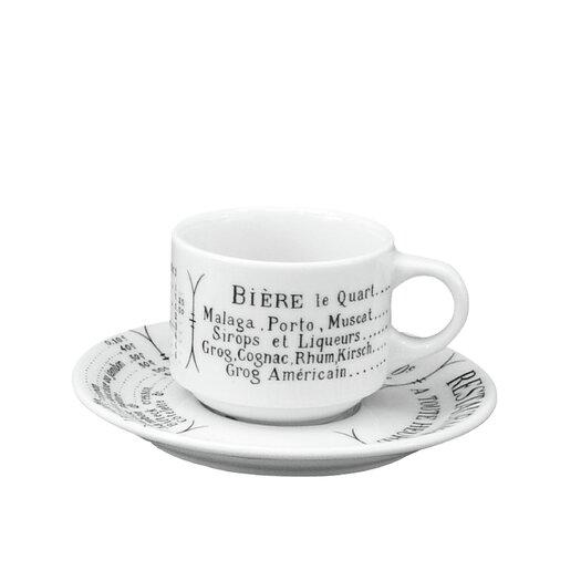 Pillivuyt Brasserie 10 oz. Breakfast Cup