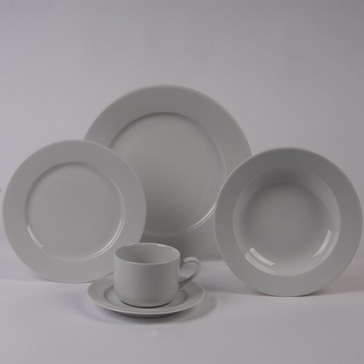 Pillivuyt Sancerre 5 Piece Dinnerware Collection