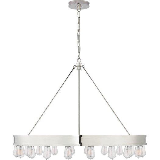 Ralph Lauren Home Lighting: Ralph Lauren Home Roark Modular 20 Light Ring Chandelier