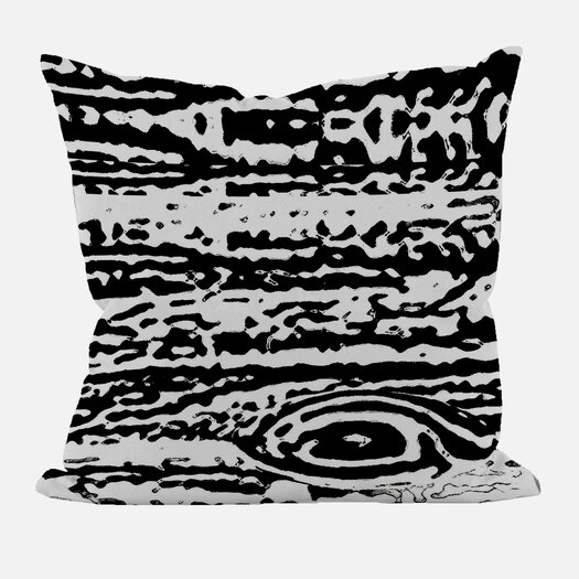 e by design Abstract Decorative Throw Pillow