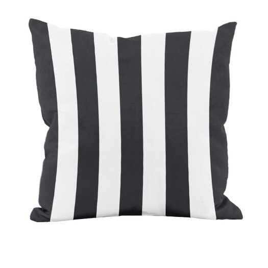 e by design Classic Stripe Decorative Throw Pillow