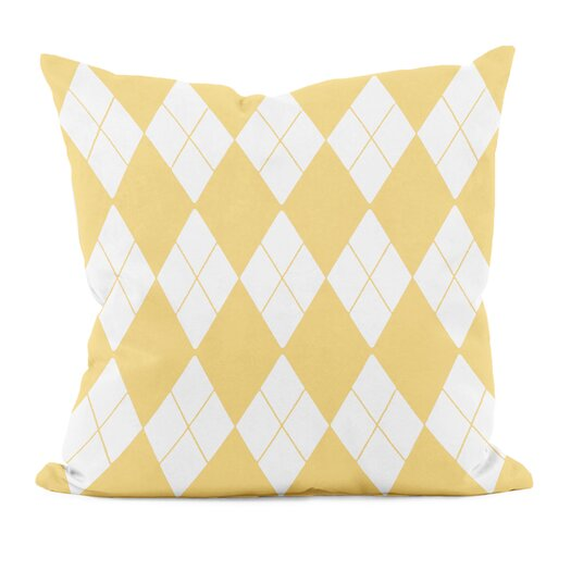 e by design Geometric Decorative Down Throw Pillow