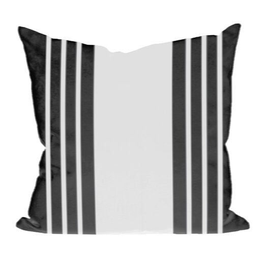 e by design Big And Bold Stripe Decorative Down Throw Pillow
