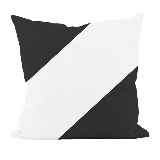 e by design Bold Stripe Throw Pillow