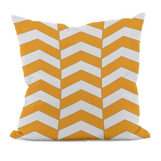 e by design Geometric Decorative Throw Pillow