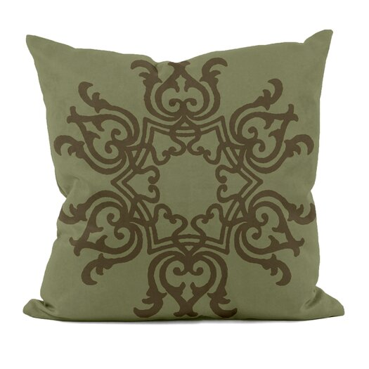 e by design Floral Motif Down Throw Pillow
