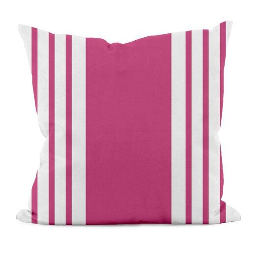 e by design Big and Bold Stripe Decorative Throw Pillow