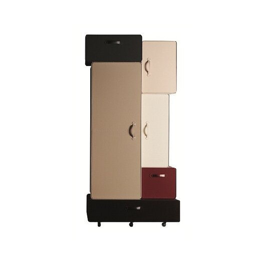 casamania valises armoire allmodern. Black Bedroom Furniture Sets. Home Design Ideas