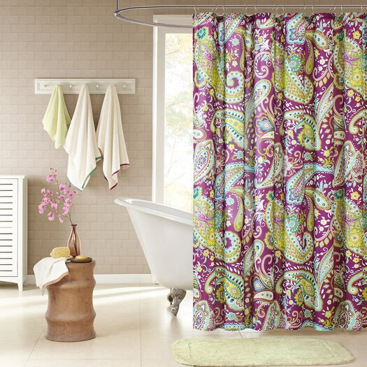 Intelligent design kayla shower curtain allmodern - Intelligent shower ...