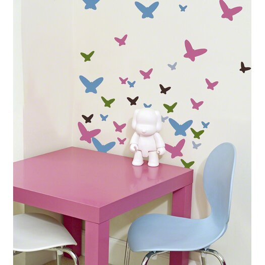 WallCandy Arts Flutterflies Wall Decal