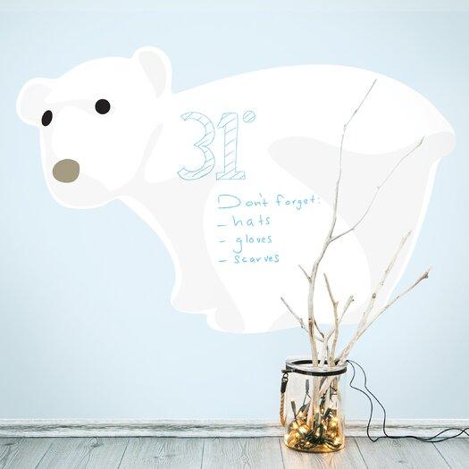 Polar Whiteboard Wall Decal