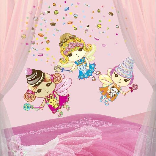 WallCandy Arts Just for Fun Sweet Dreams Fairies Wall Decal